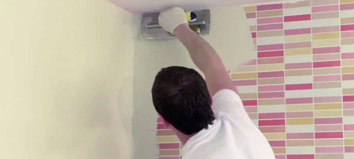 Alisar paredes sin quitar azulejos en baños ycocinas