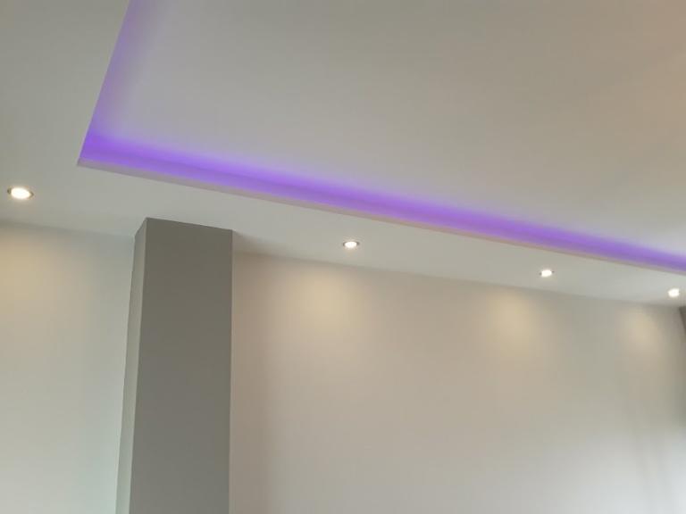 1) luz indirecta