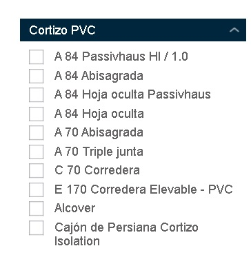 cortizo pvc