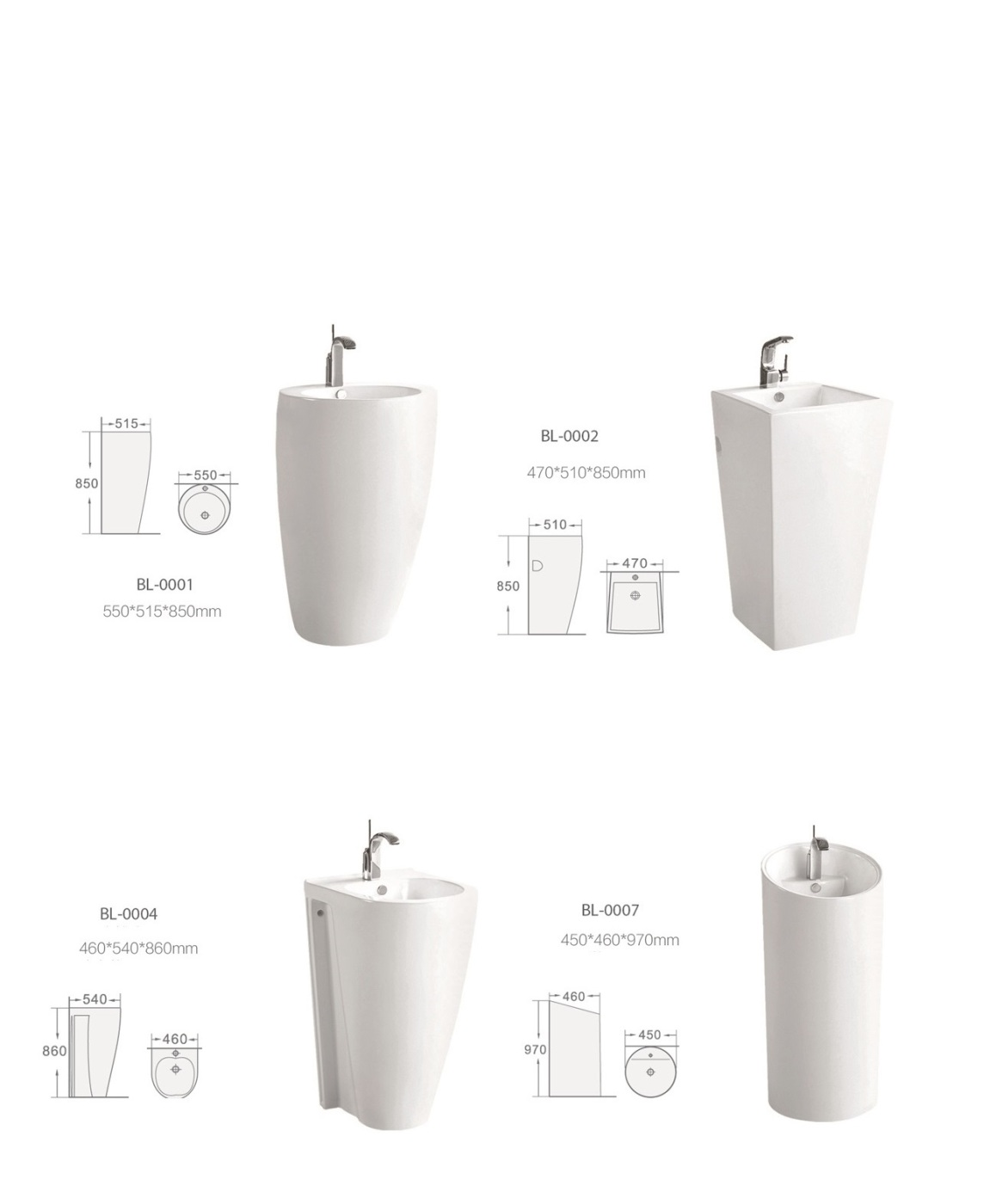 lavamanos con pie